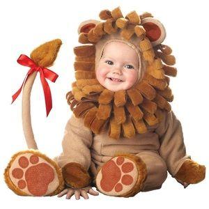 Halloween little lion costume cosplay 12-18M